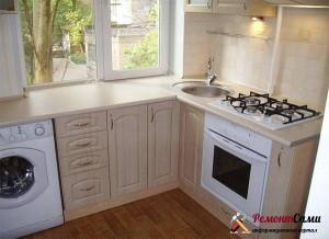 замена окна ремонт на кухне