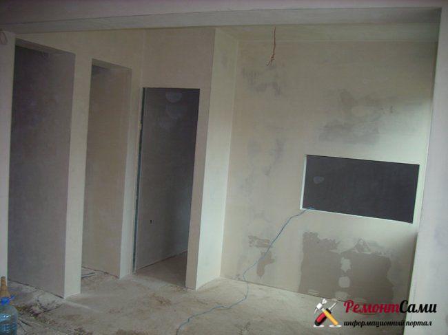 Ремонт в черновой квартире
