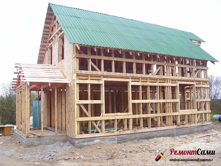 Каркасный дом, плюсы и минусы