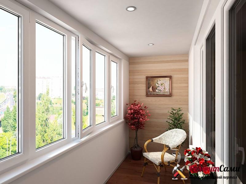 Теплое балконное остекление