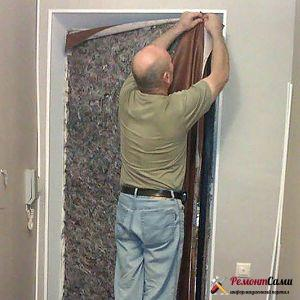утеплительный слой на дверь