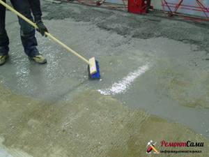 Обеспыливатель бетона