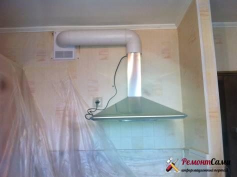 Подключение больших вытяжек на кухнях с общим стоякам с каналами недостаточного сечения является распространенной причиной обратной тяги в старых многоэтажных домах