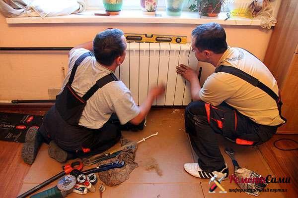 Замена отопления и электрики
