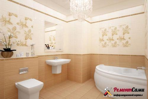 Правильный выбор керамической плитки для ванной комнаты