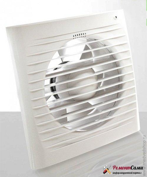 Обычный осевой настенный вентилятор