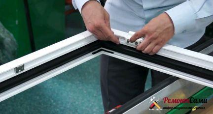 Уплотнительная резинка для стеклопакета