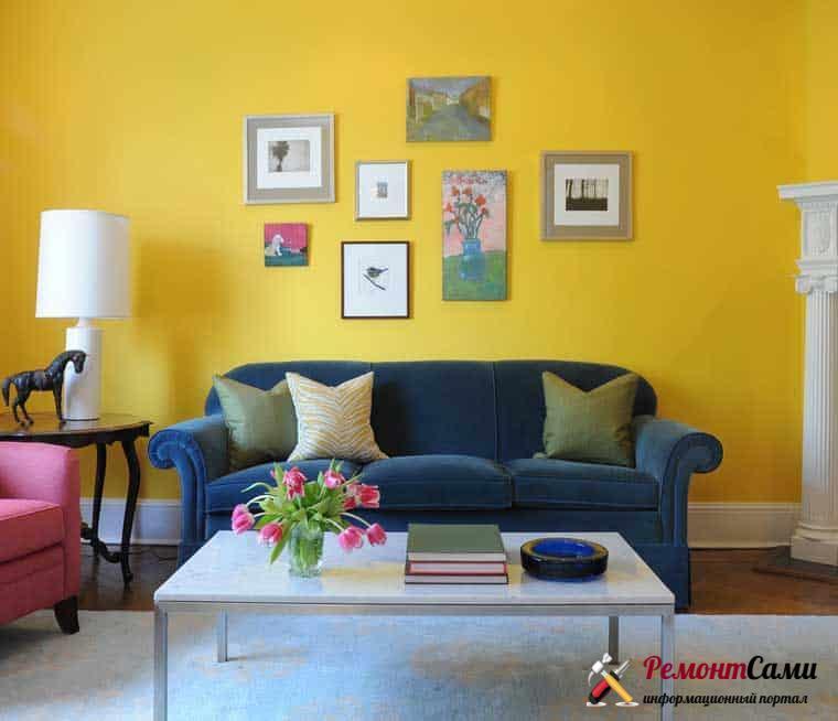 Цветовые решения для квартиры