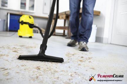 Как убрать квартиру после ремонта самостоятельно?