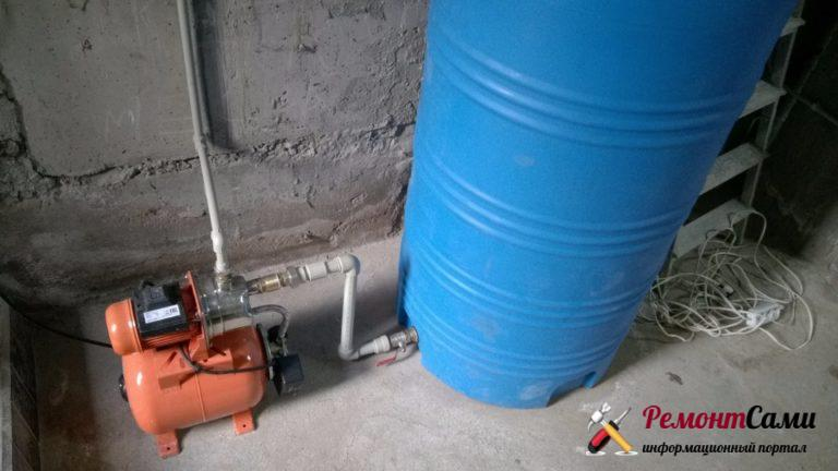 Бак-накопитель для холодного водоснабжения