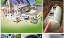Подземная система канализации: подсоединение, дренажная система, желоба и трубы