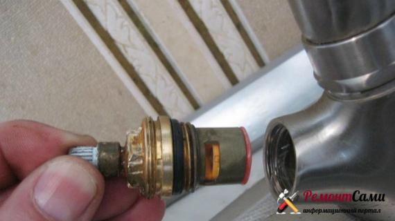 Как отремонтировать полуоборотный вентиль