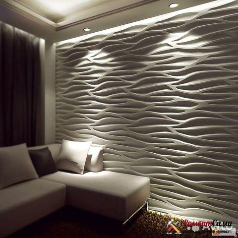3D-панели на стены