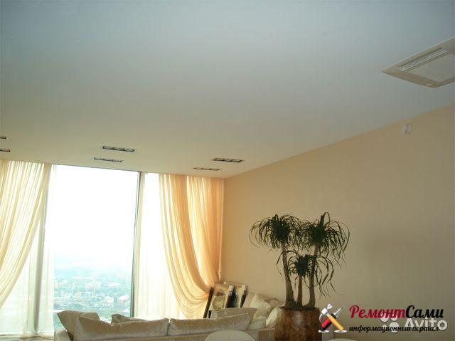 Матовый натяжной потолок от производителя из Германии