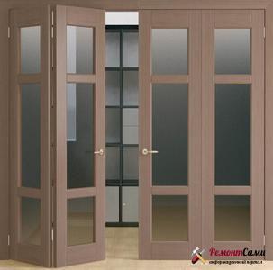 Двери складные