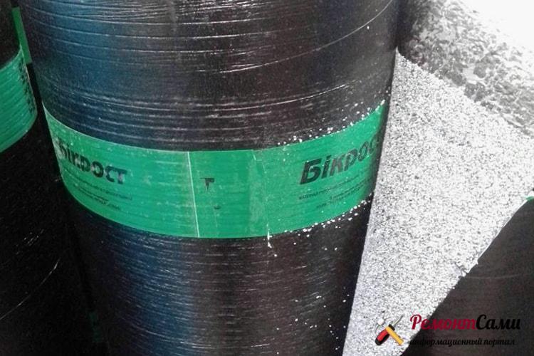 Бикрост как материал для гидроизоляции