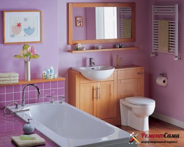 Ванная комната в женском стиле