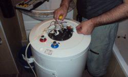 Замена неисправного погружного нагревателя