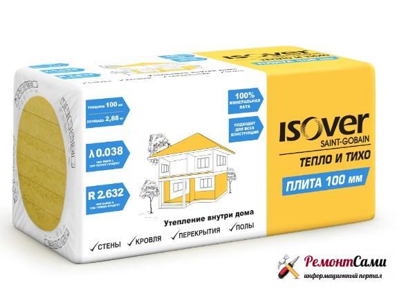 Утеплитель Isover Плита