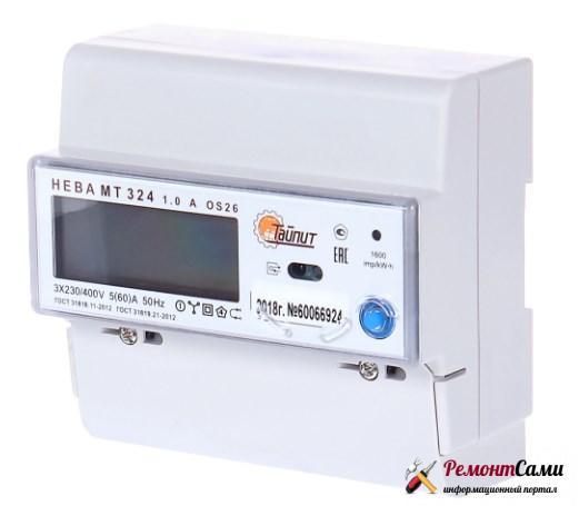 Электросчетчик Нева МТ 324 AOS26