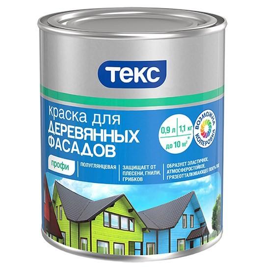 ТЕКС для деревянных фасадов