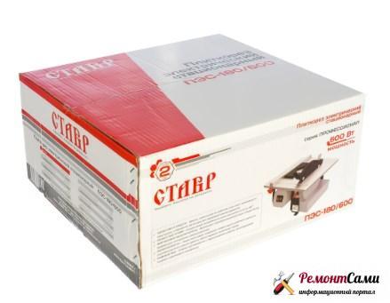 Плиткорез Ставр ПЭС – 180/600 в коробке