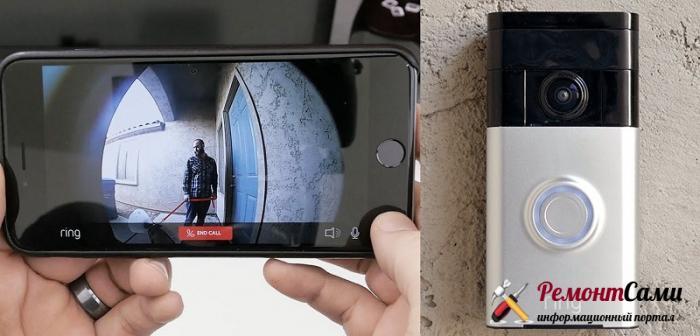 Видеодомофон, передающий картинку на смартфон