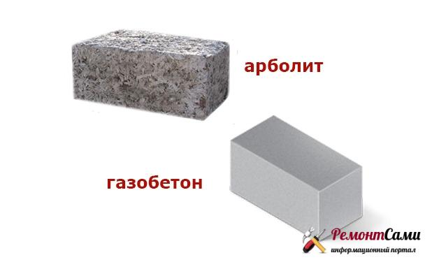 Арболит или газобетон