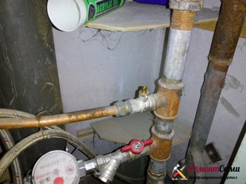Как отключить воду в аварийной ситуации
