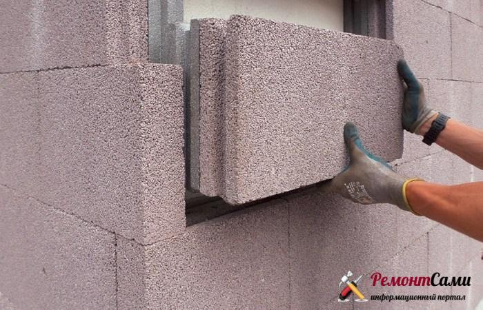 Теплоизоляционный бетон как материал для теплоизоляции