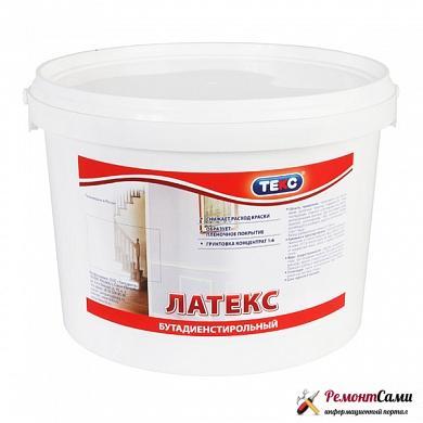 Бутадиен-стирольные краски для потолка