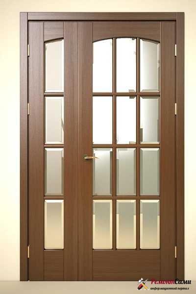 Дверь двустворчатая распашная межкомнатная
