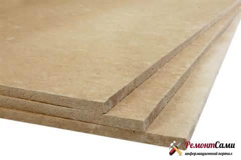 Древесноволокнистые (ДВП) и древесностружечные (ДСП) плиты