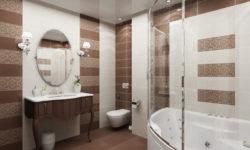 Какие потолки выбрать для ванной комнаты