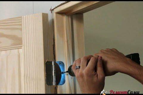 Важно точно подогнать новую дверь под проем