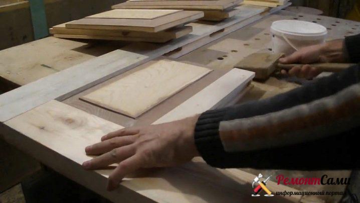 Изготовление филенок деревянной двери