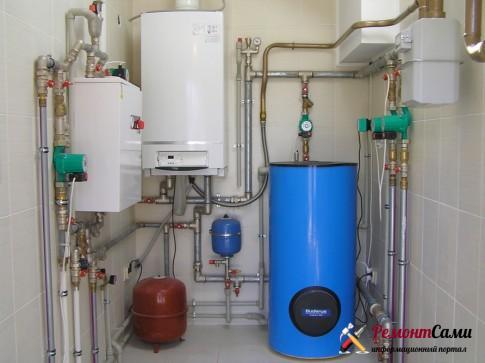 Оборудование горячего водоснабжения: газовое, жидкотопливное, дымоходы, вентиляция