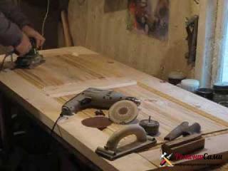 Фрезеровка деревянной двери