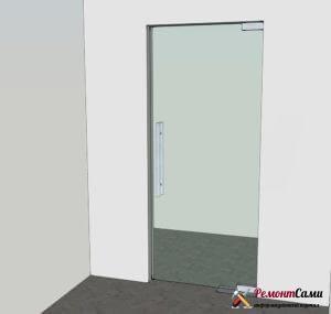 Маятниковая дверь