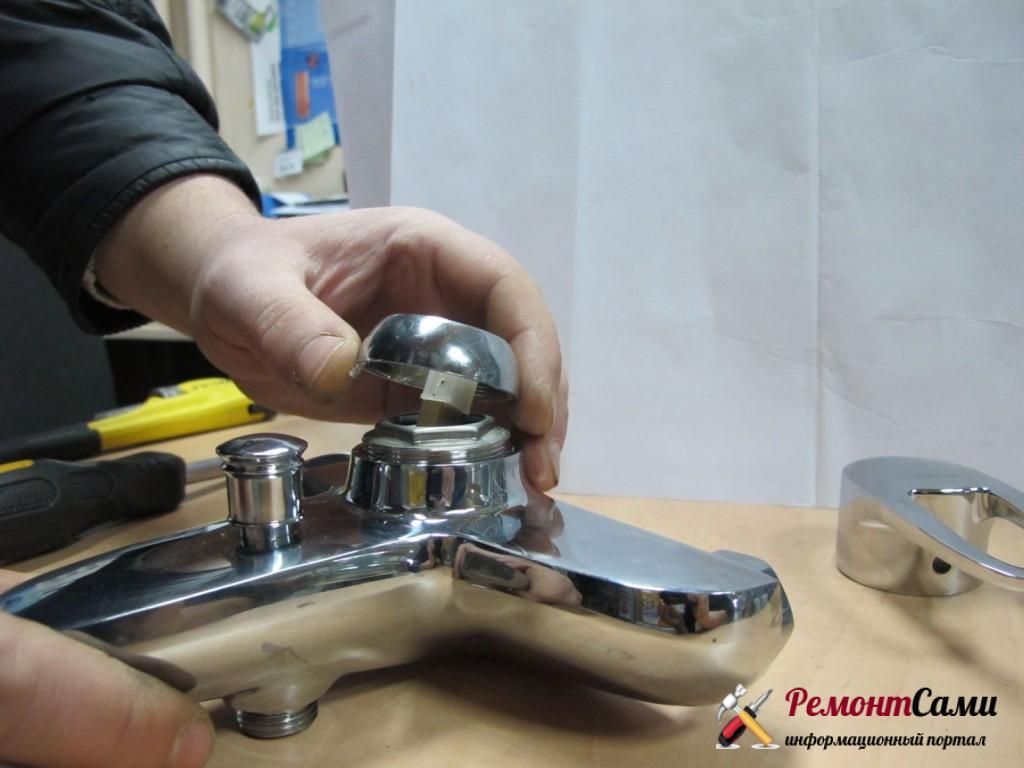 Шаровый смеситель и его ремонт