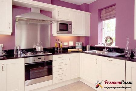 стены под покраску на кухне