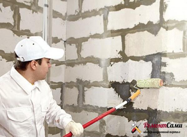 Этапы отделки стен