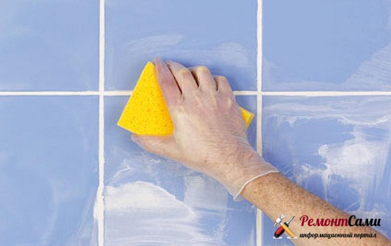 Как правильно очистить плитку