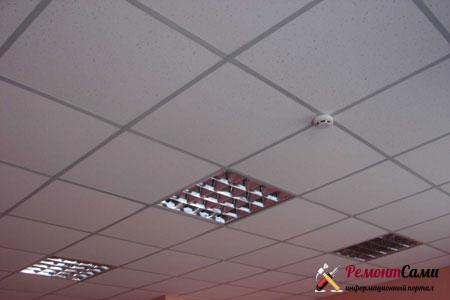 подвесной-потолок-армстронг-установка