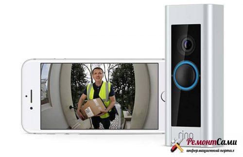 Видеозвонок Ring Video Doorbell Pro