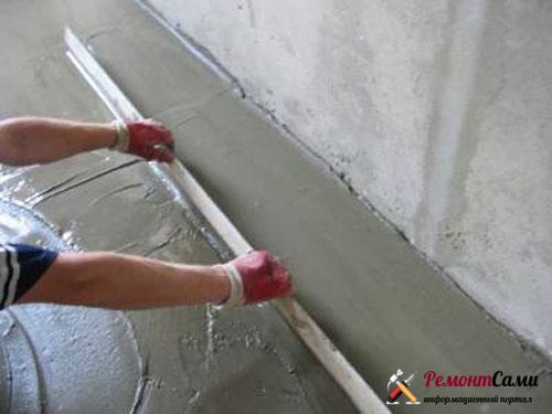 ровнять-бетон-правило