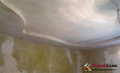 шпаклевка-потолка