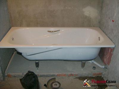 установка-стальной-ванны