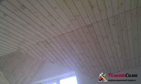 вагонка-потолок