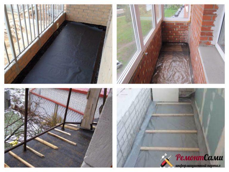 Гидроизоляция балкона и лоджии